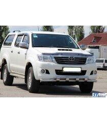 Защита переднего бампера Toyota Hilux 2012- ARP